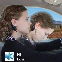 Silent Alert Aid ~ Driving / Studying / Classroom ~ Nap Zapper Comfort Rubber Earpiece