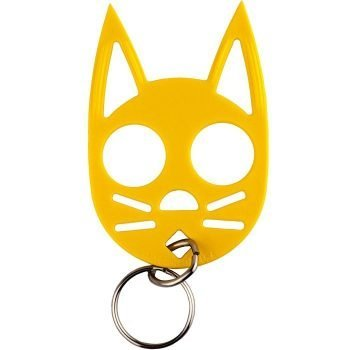 Wild Kat Key-chain ~ Yellow