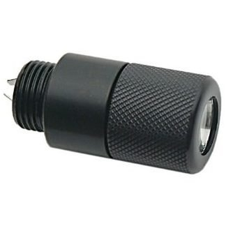 LED LIGHT ~ BATON END CAP - (COMES W/ BATTERIES)
