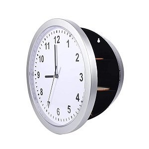 HOUSEHOLD DIVERSION SAFE - WALL CLOCK