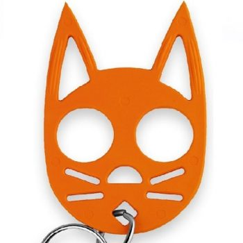 Halloween 2 Pack Wild Kat Key-Chains - Black & Orange