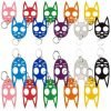 The Original ~ Wild Kats & Dogs - HARD POLYMER - Self Defense Key-Chains ~ 22 Colors to Choose