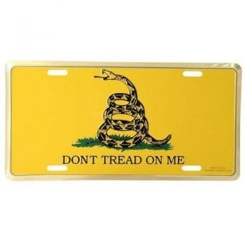 Dont Tread on Me License Plate