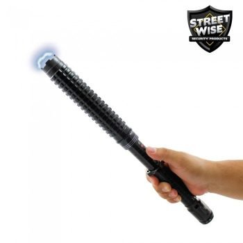 Streetwise Attitude Adjuster 30,000,000 Stun Baton Flashlight