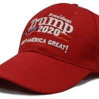 TRUMP Keep America Great - American Flag Adjustable Baseball Hat USA Cap