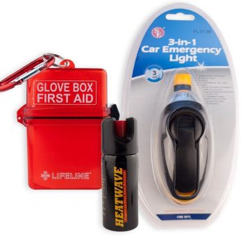 THE CAR SAFETY KIT by HEATWAVE 23% OC Pepper Spray