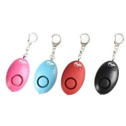 Mini Safety Alarm w/ LED Light