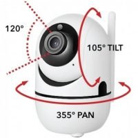 Auto Tracking WiFi SMART PHONE Controlled Camera - iFollow