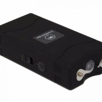 VTS-880 ~ 25 Million Mini Stun Gun ~ Rechargeable w/ LED Flashlight - Black