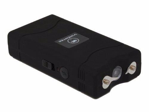 VTS-880 ~ 25 Million Mini Stun Gun ~ Rechargeable w/ LED Flashlight - Black