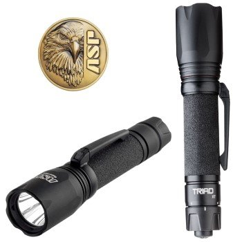 ASP Triad AA Hyper Bright Locking Switch Flashlight