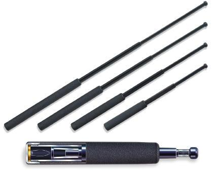 "ASP 26"" Friction Loc Batons - Foam, Black Chrome"
