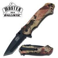CAMO SPRING ASSISTED TANTO KNIFE ~ MASTER USA