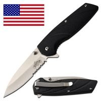 LIGHT WEIGHT ~ ABS ~ SPRING ASSISTED POCKET KNIFE ~ MASTER USA