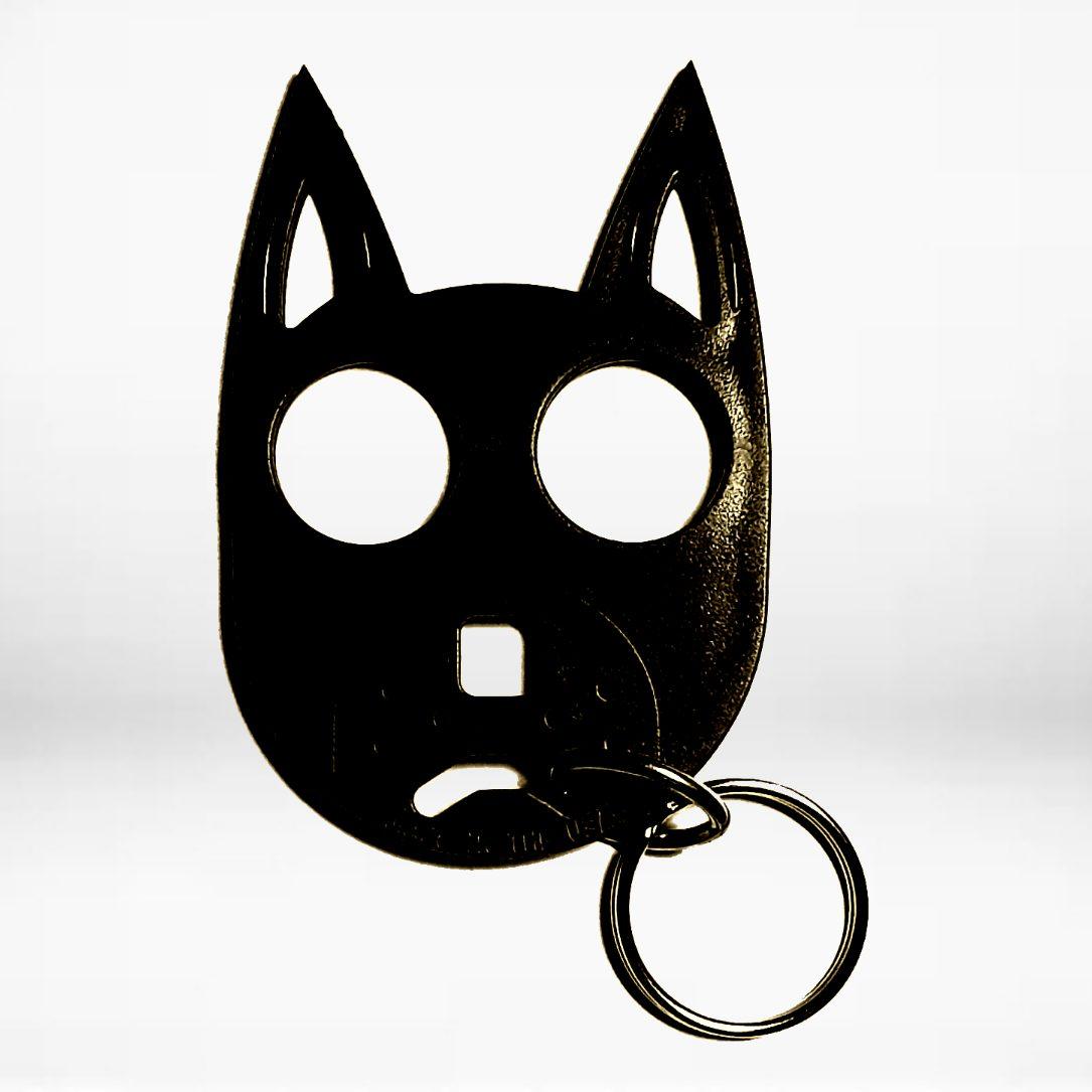 Wild Dog Hard Polymer Key-Chains - Black
