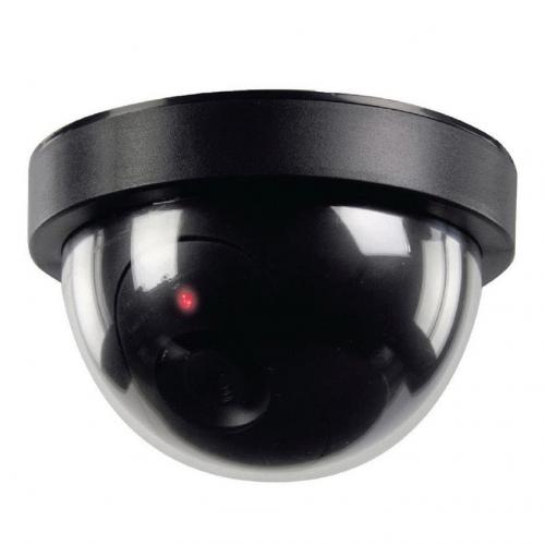 "Dome Dummy Sensor Security Camera ( 4-5/8"" x 2-13/16"" Tall )"