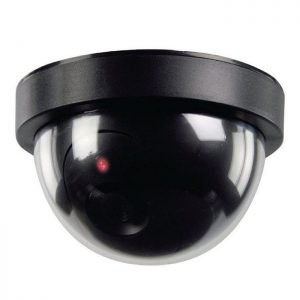 "Dome Dummy Sensor Security Camera ( 4-5/8"" x 2-13/16"" Tall )"