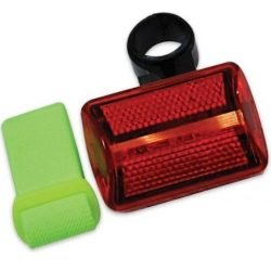 BICYCLE AND JOGGER LIGHT - 7 FUNCTION - Red