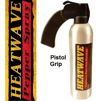 HEATWAVE 23% OC ~ Riot Control 16 OZ ~ Pistol Grip