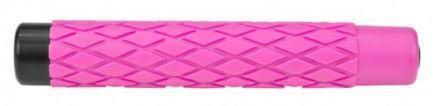"EXPANDABLE TELESCOPIC BATON RUBBER HANDLE (PINK) ""Lite and Easy"" - 26"""