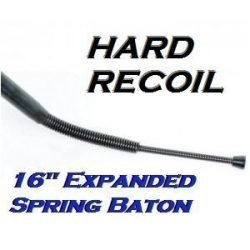 """16"""" Spring Steel Billy ~ 6"""" Compact Convenient Sized Baton"""
