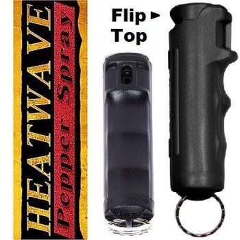 HEATWAVE FLIP-TOP 1/2 oz ~ Black