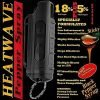 HEATWAVE ~ Hard-Shell w/ Key-Ring ~ 23% OC Pepper Spray Max - Black