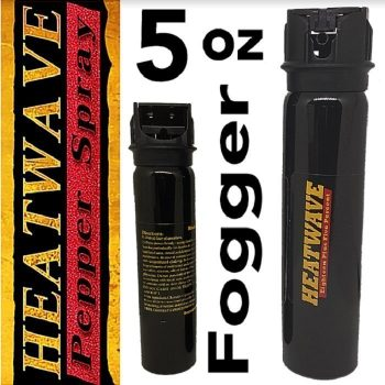 HEATWAVE 23% OC Pepper Spray ~ 5 oz FOGGER Flip-Top