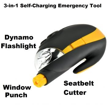DYNAMO RECHARGEABLE AUTO EMERGENCY TOOL BY SE