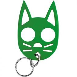 Wild Kat Key-chain ~ Green