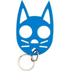 Wild Kat Key-chain ~ Light Blue