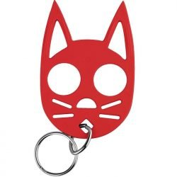 Wild Kat Key-chain ~ Red