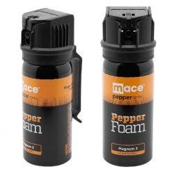 Mace Brand Police Strength Pepper Spray 10% ~ Pepper Foam Magnum 3