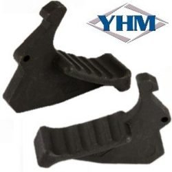 Yankee Hill Machine Co ~ Tactical Charging Handle Latch Extension - Matte Black