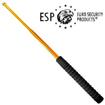 "ESP Tactical Collapsible Hardened Police Baton 21"" - Gold"